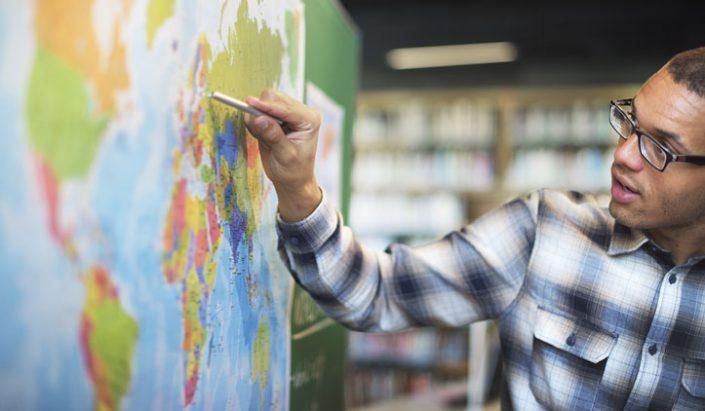 Evaluacion de Examenes Geografia de Primero de la ESO